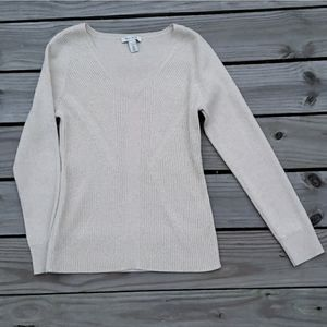 WHBM Sparkle Sweater Large